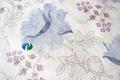 floral de impresión de tela de punto marcando colchón tela