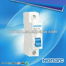 High Quality Circuit Breaker DZ47 C45 1 Pole Switch