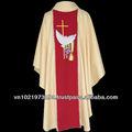 Ofertas caliente con vestimentas católica/chasuble fatimacompany-- viet nam