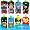 Soft 3D Superman Lego Silicon Case For Iphone 5