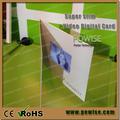 Caliente 2015 4.3 pulgadas delgado diseño de tarjetas de vídeo/4.3 pulgadas lcd revista/pantalla lcd publicidad personalizada cardch publicidad de vídeo dígitos