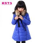 2014 Factory A Line Girls Unique Design Down Coat Clothing Suppliers For Boutiques Kids Winter Clothes