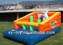 Baseball batting inflatable game, inflatable baseball bat