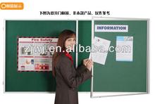 China supplier shcool used aluminum glass display showcase