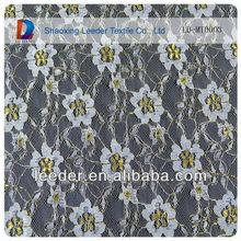 cheap sarees bulk lace for bridal /gold metallic fashion lace fabric for wedding dress