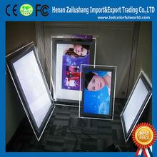 Energy-saving Frameless Led Crystal Light Box.Custom Light Frame
