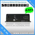 4 canaux DVR mobile, Bus vidéo enregistreur, Usine OEM / ODM LOGO personnalisé assurance de la qualité
