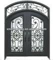 forjado de hierro decoración de la puerta