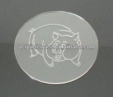 acrylic cup pads/coasters - hg131204011B