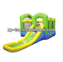 jumping castles inflatable water slide,inflatable bouncy castle with water slide,inflatable bouncer water slide
