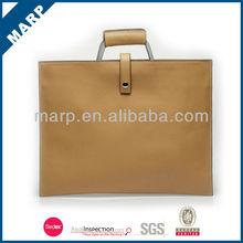 Latest leisure pu leather Ipad wood briefcases