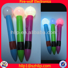 United Kingdom Multicolorfull ball spinning Flashing ballpoint pens, Promotion led pen Manufacturers & Suppliers and Exporters
