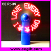 Programmable Led Message Handheld Fan