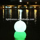 swimming pool led orb ball lighting /Glowing LED Spheres/ LED waterproof balls