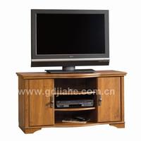 2014 walnut self assembling MDF cabinet furniture,dark walnut tv stand