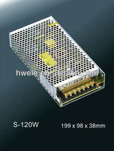 12V 15V 24V 27V 36V 48V 120W LED power supply