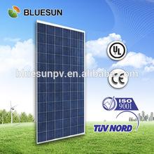 Bluesun best selling poly 300w photovoltaic paneles solares JA solar cell