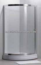 HTSE-87A26 new design AUSTRLIA standard 5mm tempered glass abs shower enclosure