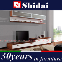 living room furniture lcd tv wall units / modern design led tv wall unit