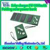 Folding solar storage power 5W -5V -1000mA-8000mAh solar power bank aa battery emergency mobile phone charger