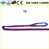 flat polyester web sling