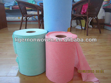 spunalce nonwoven lint free for cleaning cloth
