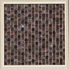 honey clear glass mosaic floor tiles for livingroom