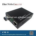 10/100mbps de fibra óptica de los medios de comunicación de rf convertidor de la señal