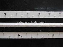 carpet gripper/tack strip with concrete nails