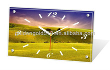 Client's designs accepted cheap desk decoration table desktop clock