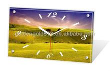 Client's designs accepted cheap desk decoration table desktop clock
