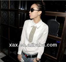 ladies cotton shirt no collar