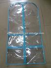 Fashion Clear PVC Garment Cover, Garment Storage Bag