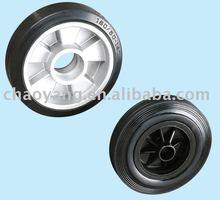 Rubber tyre wheel fro 2.5T & 3T pallet truck wheel