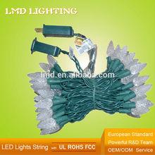 120V UL 70 Warm White Christmas C6 LED Lights