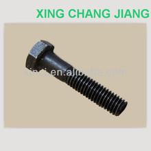 Low Carbon Steel hex head bolt DIN931