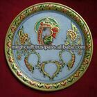New Marble decorative Pooja Thali - Wedding return gifts -Wholesale Diwali corporate Gift - Decorative Diya thali