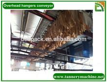 China leather overhead chain conveyor dryer oven