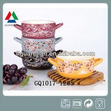 2014 ceramic soup and mugs for christmas
