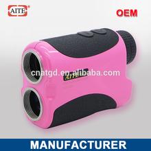 6*24 400m pin seeker function rangefinder yellow plastic golf swing training aid trainer pra