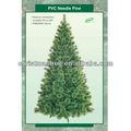 enganchado de aguja de pino los árboles de navidad para la decoración del partido