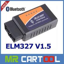 Versão mais recente do olmo 327 bluetooth obd ii odb2 interface de diagnóstico scanner, funciona no android elm327 bluetooth carro scan tool