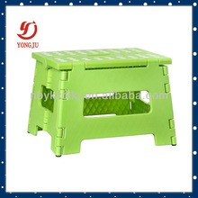 New type fold step stool,high load-carry plastic chair