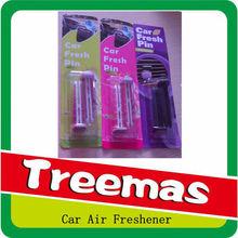 Retail perfume auto clip/ best price stock car vent stick air freshener