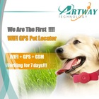New Fashion WIFI Locator Tracker Works Indoor and Outdoor GPS Mini Pets Tracker -HGT15 Pet Tracker Collar