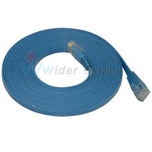 3-Feet Super Slim Flat Network Cat 6 Cable /Blue Color