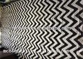 billige boden teppich aus recycelt textil