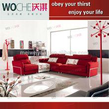 Modern Top Quality Corner Sofa Fabric Sofa Sofa UK (WQ8992B)Fashionable Living Room Furniture