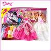 11.5 inch plastic fashion mattell barbiee dolls