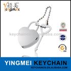 Y02612 Fashion heart shape metal lock key chain